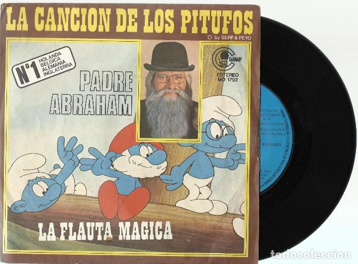 PADRE ABRAHAM. (Música - Discos - Singles Vinilo - Música Infantil)