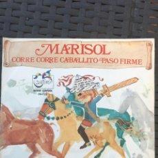 Discos de vinilo: MARISOL - CORRE CORRE CABALLITO - SERIE GRIÑAN. Lote 128707771
