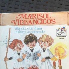 Discos de vinilo: MARISOL - VILLANCICOS DE TRIANA-. Lote 128708035
