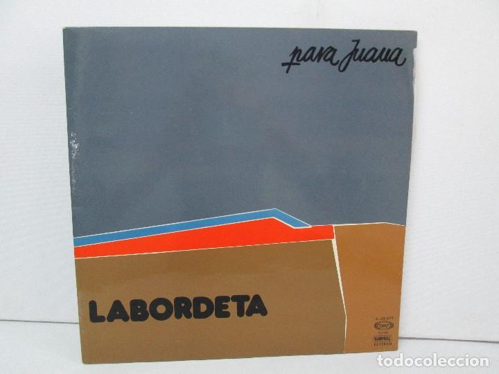 LABORDETA. PARA JUANA. TIEMPO DE ESPERA. LP VINILO. MOVIEPLAY 1976. VER FOTOGRAFIAS ADJUNTAS (Música - Discos - LP Vinilo - Flamenco, Canción española y Cuplé)