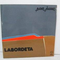 Discos de vinilo: LABORDETA. PARA JUANA. TIEMPO DE ESPERA. LP VINILO. MOVIEPLAY 1976. VER FOTOGRAFIAS ADJUNTAS. Lote 128713139