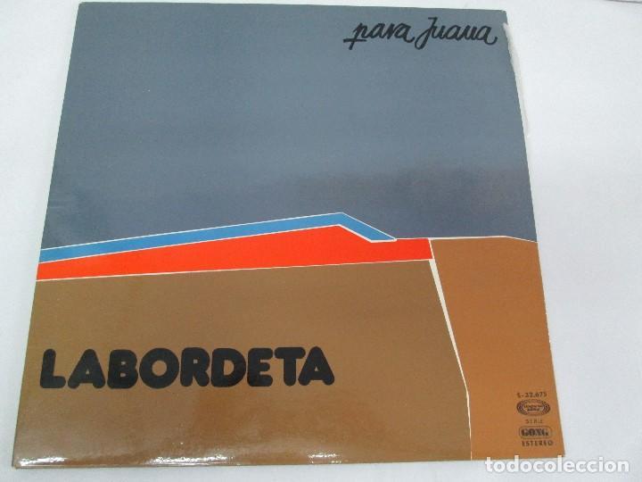 Discos de vinilo: LABORDETA. PARA JUANA. TIEMPO DE ESPERA. LP VINILO. MOVIEPLAY 1976. VER FOTOGRAFIAS ADJUNTAS - Foto 2 - 128713139