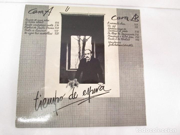Discos de vinilo: LABORDETA. PARA JUANA. TIEMPO DE ESPERA. LP VINILO. MOVIEPLAY 1976. VER FOTOGRAFIAS ADJUNTAS - Foto 8 - 128713139