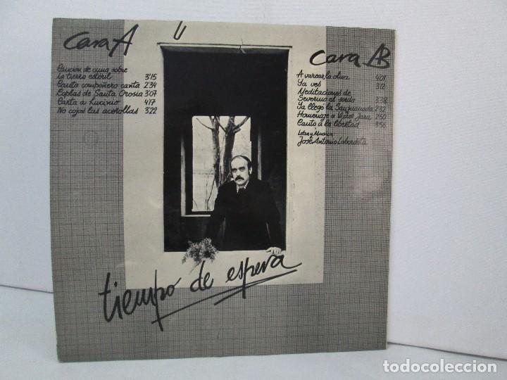 Discos de vinilo: LABORDETA. PARA JUANA. TIEMPO DE ESPERA. LP VINILO. MOVIEPLAY 1976. VER FOTOGRAFIAS ADJUNTAS - Foto 9 - 128713139