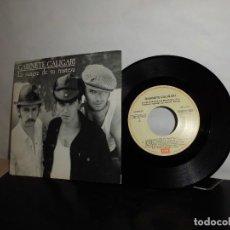 Discos de vinilo: GABINETE CALIGARY -A LA SANGRE DE TU TRISTEZA--B TOCALA ULI- EMI- MADRID 1987-NUEVO . Lote 128713963