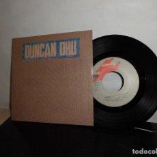 Discos de vinilo: DUNCAN DHU-A POBRE DIABLO -B EL BOSQUE- GRABACIONES ACCIDENTALES -DRO S.A. -GASA-1989 -NUEVO-. Lote 128714159