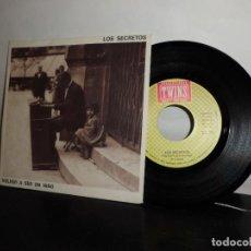 Discos de vinilo: LOS SEGRETOS -A VOLVER A SER UN NIÑO -B-EL PRIMER CRUCE -TWINS - MADRID -1988-NUEVO. Lote 128714499