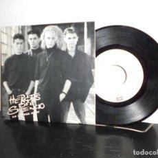 Discos de vinilo: HEROES DEL SILENCIO -LA LLUVIA GRIS --EMI ODEON- MADRID - 1987- NUEVO. Lote 128714959