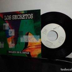 Discos de vinilo: LOS SEGRETOS --BAILANDO EN EL DESVAN- MADRID- DRO GASA- 1992-NUEVO-. Lote 128715115