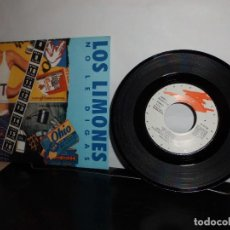 Discos de vinilo: LOS LIMONES NO SE LO DIGAS -GRABACIONES ACCIDENTALES - 1990 GASA PAU COLLINS-DRO S,A,- MADRID NUEVO. Lote 128716499