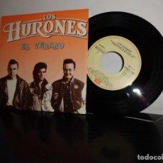 Discos de vinilo: LOS HURONES EL VERANO - EMI ODEON AÑO 1988- MADRID NUEVO . Lote 128716811