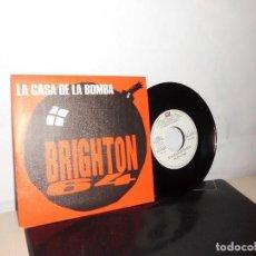 Discos de vinilo: LA CASA DE LA BOMBA - A BRIGHTON-64-B EL REY DE COPAS -EMI ODEON- 1986- MADRID NUEVO -. Lote 128716983