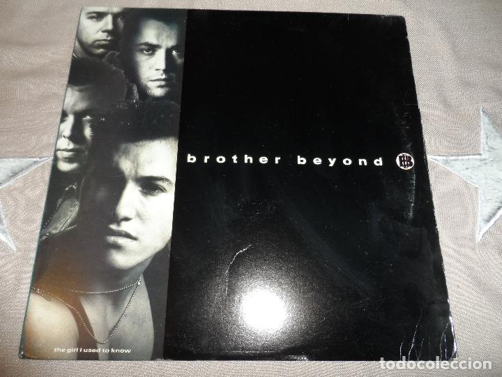 BROTHER BEYOND - THE GIRL I USED TO KNOW (Música - Discos de Vinilo - Maxi Singles - Techno, Trance y House)