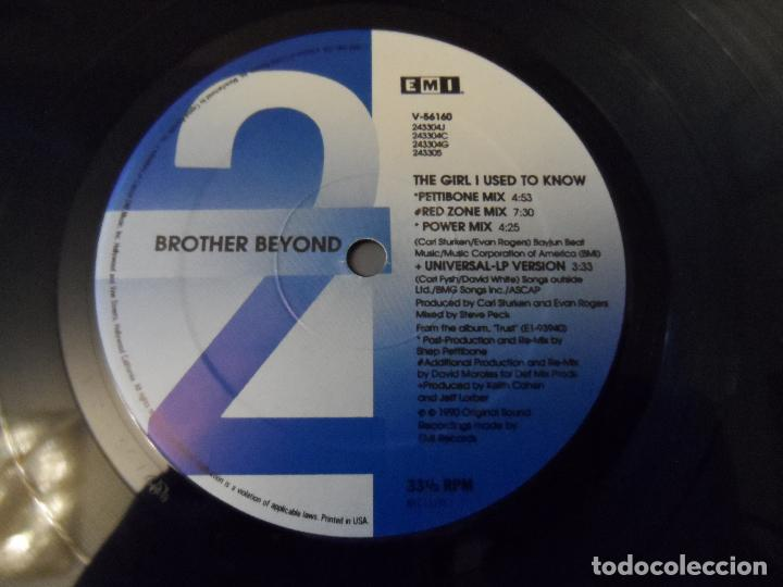 Discos de vinilo: Brother Beyond - The Girl I Used To Know - Foto 3 - 128717111