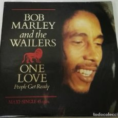 Discos de vinilo: BOB MARLEY AND THE WAILERS ONE LOVE PEOPLE GET READY MAXI. Lote 128719023