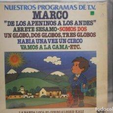 Discos de vinilo: LP. NUESTROS PROGRAMAS DE TV - MARCO. Lote 128723195