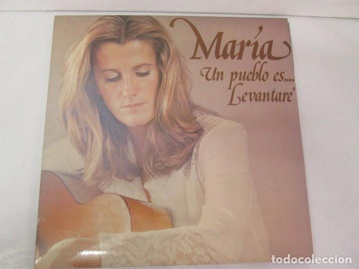 Discos de vinilo: MARIA OSTIZ. UN PUEBLO ES... LEVANTARE. LP VINILO. HISPAVOX 1977. VER FOTOGRAFIAS ADJUNTAS - Foto 2 - 128723547