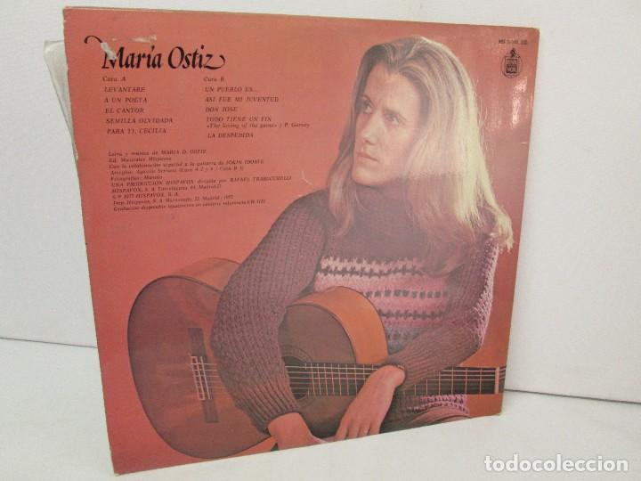 Discos de vinilo: MARIA OSTIZ. UN PUEBLO ES... LEVANTARE. LP VINILO. HISPAVOX 1977. VER FOTOGRAFIAS ADJUNTAS - Foto 9 - 128723547