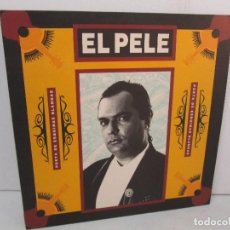 Discos de vinilo: EL PELE. POETA DE ESQUINAS BLANDAS. LP VINILO. DIRECT METALMOSTERING 1990. VER FOTOGRAFIAS ADJUNTAS. Lote 128724367