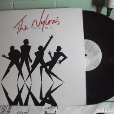 Discos de vinil: THE NYLONS ONE SIZE FITS ALL LP USA 1982 PDELUXE. Lote 128727975