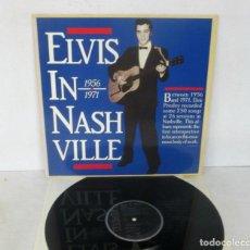Discos de vinilo: ELVIS PRESLEY - ELVIS IN NASHVILLE 1956 1971 - LP - RCA 1988 GERMANY PL88468 COMO NUEVO. Lote 128728659