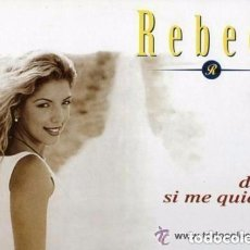 Discos de vinilo: REBECA DIME SI ME QUIERES (REMIXES) MAXI-SINGLE SPAIN 1998. Lote 128728847