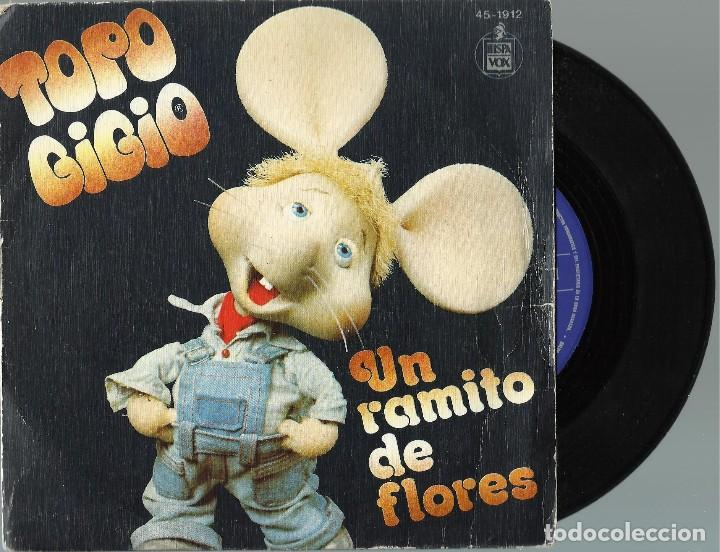 TOPO GIGIO.. (Música - Discos - Singles Vinilo - Música Infantil)
