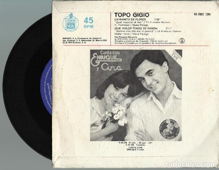 Discos de vinilo: TOPO GIGIO.. - Foto 2 - 128733047