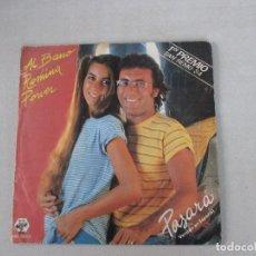 Discos de vinilo: AL BANO Y ROMINA POWER PASARÁ/ ÁNGELES EN ESPAÑOL BABY 1984. Lote 128740499