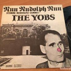 Discos de vinilo: THE YOBS (RUN DUDOLPH RUN) SINGLE ESPAÑA 1977 (EPI13). Lote 128742323