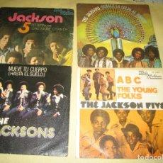 Discos de vinilo: JACKSONS FIVE - LOTE DE 4 EPS . Lote 128743207