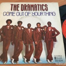 Discos de vinilo: THE DRAMATICS (COME OUT OF YOUR THING) SINGLE ESPAÑA 1976 (EPI13). Lote 128743627
