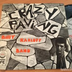 Discos de vinilo: BILLY KARLOFF BAND (CRAZY PAVING ) SINGLE ESPAÑA 1978 PROMO CHAPA DISCOS (EPI13). Lote 128745047