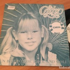 Discos de vinilo: CATTHY (UN BIBERON DE ROCK AND ROLL ) SINGLE ESPAÑA 1981 PROMO (EPI13). Lote 128745227