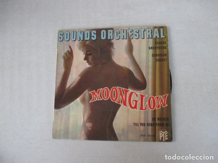 SOUNDS ORCHESTRAL MOONGLOW/ CANADIAN SUNSET/ SOUNDS ANONYMOUS +1 VOGUE ED. FRANCESA (Música - Discos de Vinilo - EPs - Orquestas)