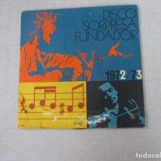 Discos de vinilo: LOS AGAROS BUFFALO/ ANGELITOS NEGROS/ SLEEPY TIME GAL/ DIGÁSELO CON MÚSICA FUNDADOR 1966. Lote 128746159