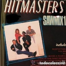 Discos de vinilo: HITMASTERS (YOUR ONLY LOVER - SAWMIX) - MAXI-SINGLE ZAFIRO 1988. Lote 128749183