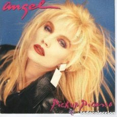 Discos de vinilo: ANGEL - PICK UP PICASSO / WELLCOME TO MY LIFE - MAXI-SINGLE PROMO 1987. Lote 128749575