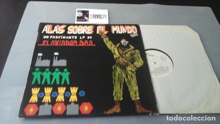 EL AVIADOR DRO ?– ALAS SOBRE EL MUNDO LP DRO ?– DRO 010 EXCELENTE ESTADO (Música - Discos - LP Vinilo - Grupos Españoles de los 70 y 80)