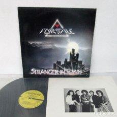 Discos de vinilo: FORSALE - STRANGER IN TOWN -LP- FORSALE FAN CLUB 1988 MPRESS 051 SWITZERLAND SUPER RARE. Lote 128756499