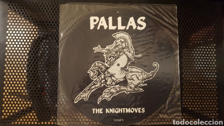 MAXI - PALLAS - THE KNIGHTMOVES - PICTURE DISC - 1985 - 12 PLSP 3 (Música - Discos de Vinilo - Maxi Singles - Pop - Rock - New Wave Extranjero de los 80)