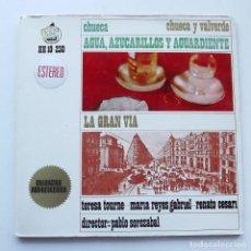 Discos de vinilo: 1963 LP AGUA, AZUCARILLOS Y AGUARDIENTE. HISPAVOX. Lote 128773823