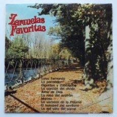 Discos de vinilo: 1973 LP ZARZUELAS FAVORITAS, BELTER, ORQUESTA SINFÓNICA HISPANIA. DIRECTOR JESÚS BERMEJO. Lote 128774959