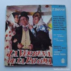Discos de vinilo: 1961 LP LA VERBENA DE LA PALOMA, HISPAVOX. Lote 128775539