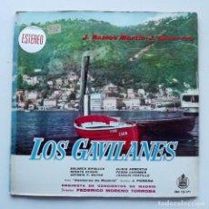 Discos de vinilo: 1961 LP LOS GAVILANES, HISPAVOX. Lote 128775743