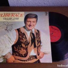 Discos de vinilo: LP - LIBERACE - EL PIANO MÁGICO DE LIBERACE - YEAR 1974 - EDITION SPANISH. Lote 128776571