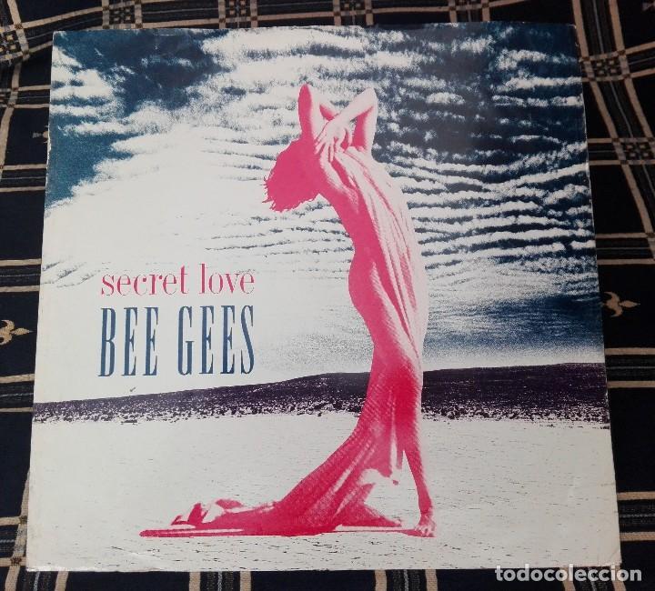 SECRET LOVE - BEE GEES - WARNER BROS. RECORDS W0014T 9362 40014-0 (Música - Discos - LP Vinilo - Pop - Rock Extranjero de los 90 a la actualidad)