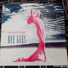 Discos de vinilo: SECRET LOVE - BEE GEES - WARNER BROS. RECORDS W0014T 9362 40014-0. Lote 128781235