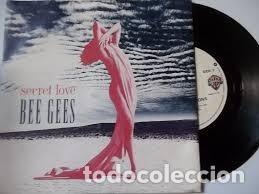 Discos de vinilo: Secret Love - Bee Gees - Warner Bros. Records W0014T 9362 40014-0 - Foto 3 - 128781235