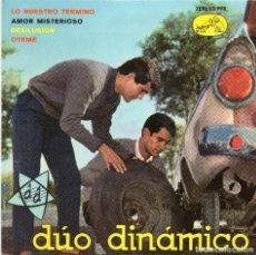 Dischi in vinile: DUO DINAMICO - LO NUESTRO TERMINO + 3 EP.S - MBE. Lote 128785135